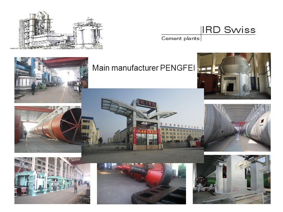 Main manufacturer PENGFEI