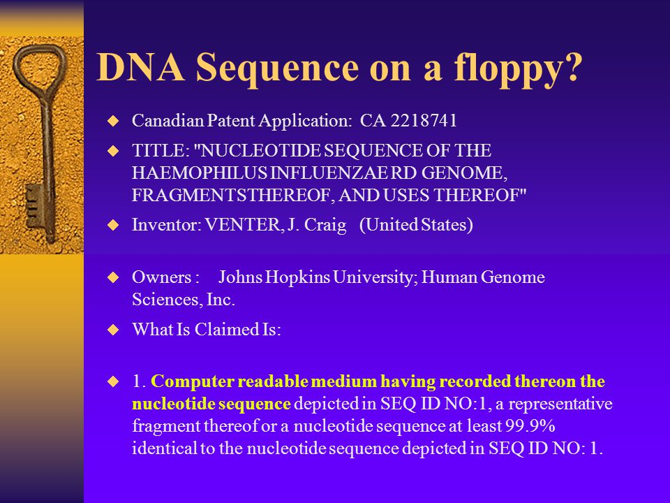 How do gene therapy patents relate to patents on people.