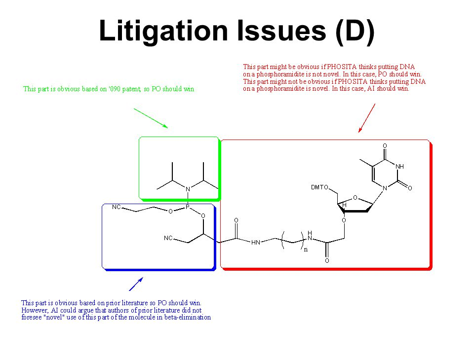 Litigation Issues (D)