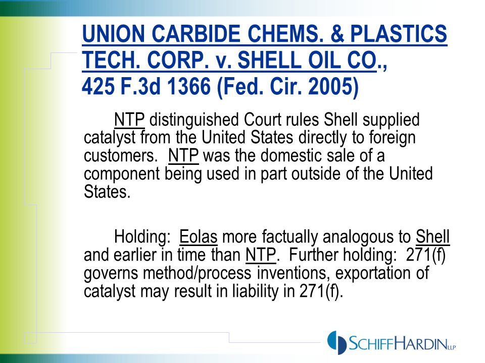 LIMITATIONS OF CLAIM 4 AS CONSTRUED BY THE DISTRICT COURT (AND AFFIRMED) (1) an EO process operated at specific reaction conditions ; (2) the catalyst used in the EO process comprises silver in a first amount, cesium in a second amount, and lithium in a third amount; (3) the efficiency obtainable from the EO process using the catalyst is greater than the efficiency of a process using (a) a second catalyst containing silver in the first amount and cesium in the second amount (but no lithium) and (b) a third catalyst containing silver in the first amount and lithium in the third amount (but no cesium), when operated in the same EO production system (the comparison test ); and (4) the combination of silver, cesium and lithium is characterizable by the efficiency equation set forth in claim 1 (the characterizable test ).
