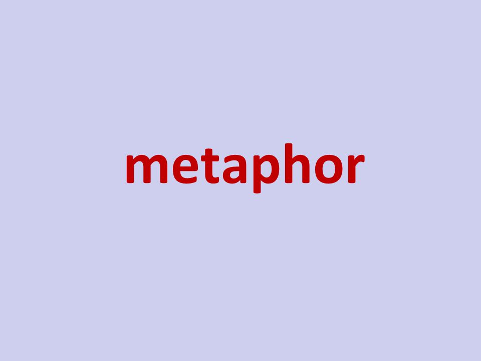 a stated comparison between two unlike things metaphor