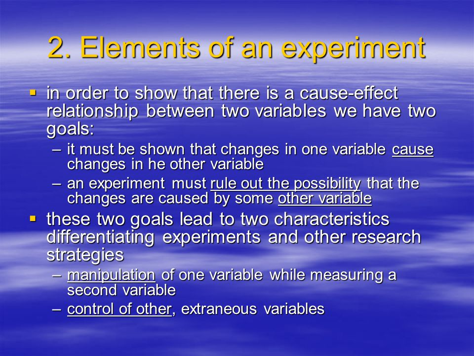  simulation –is the creation of conditions within an experiment that simulate or closely duplicate the natural environment in which the behaviors being examined would normally occur  e.g.