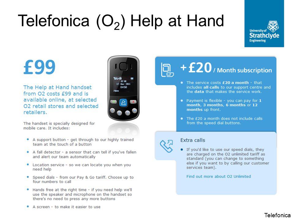 Telefonica (O 2 ) Help at Hand Telefonica