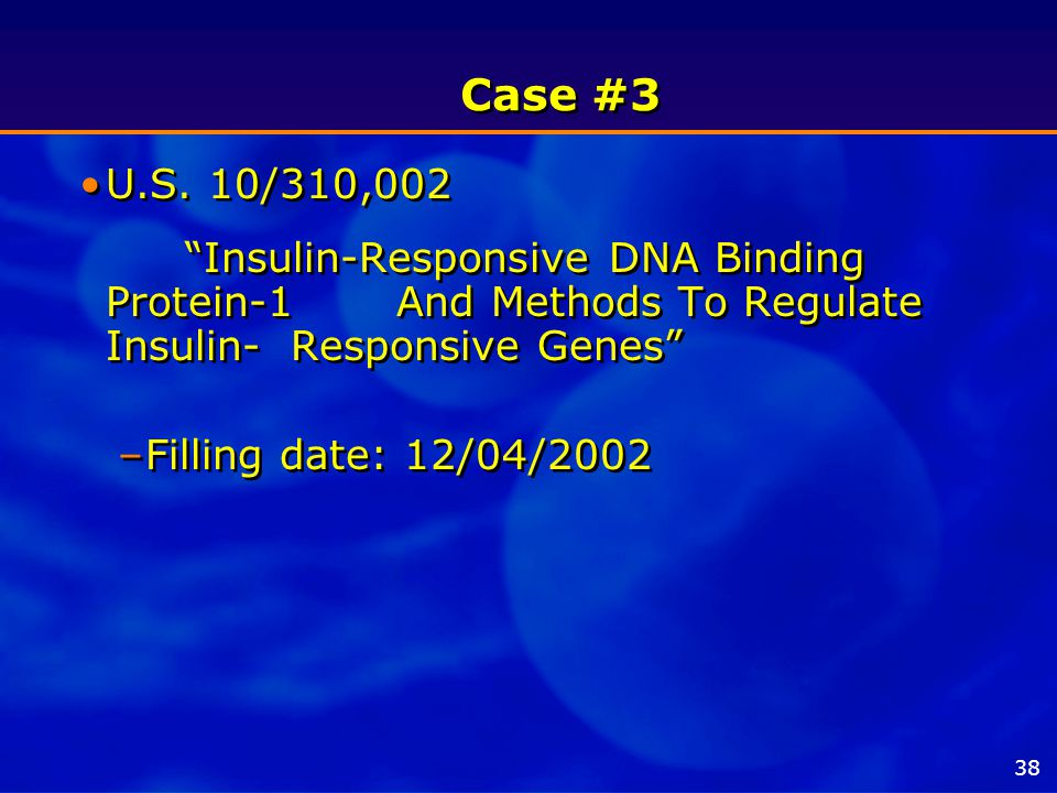Case #3 U.S.