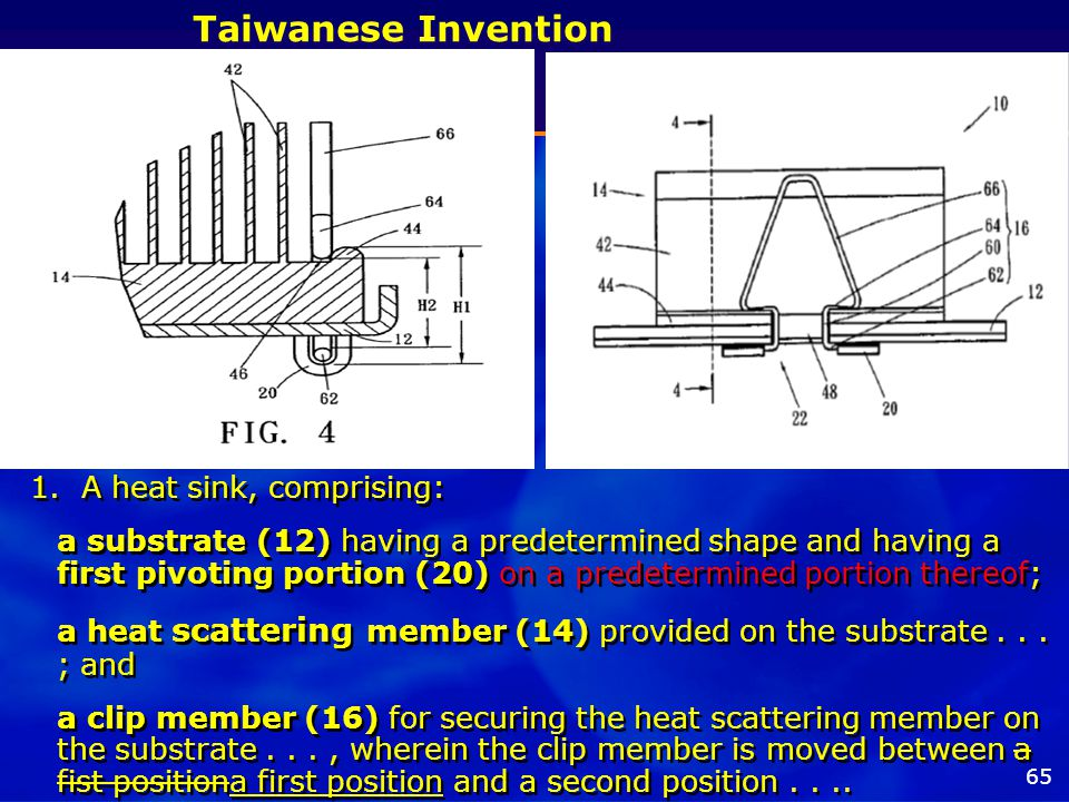 65 Taiwanese Invention 1.