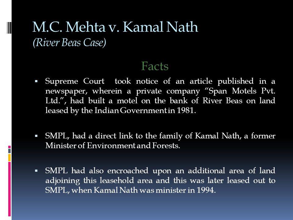 M.C. Mehta v.