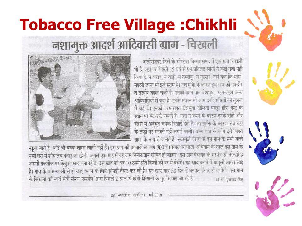 Tobacco Free Village :Chikhli