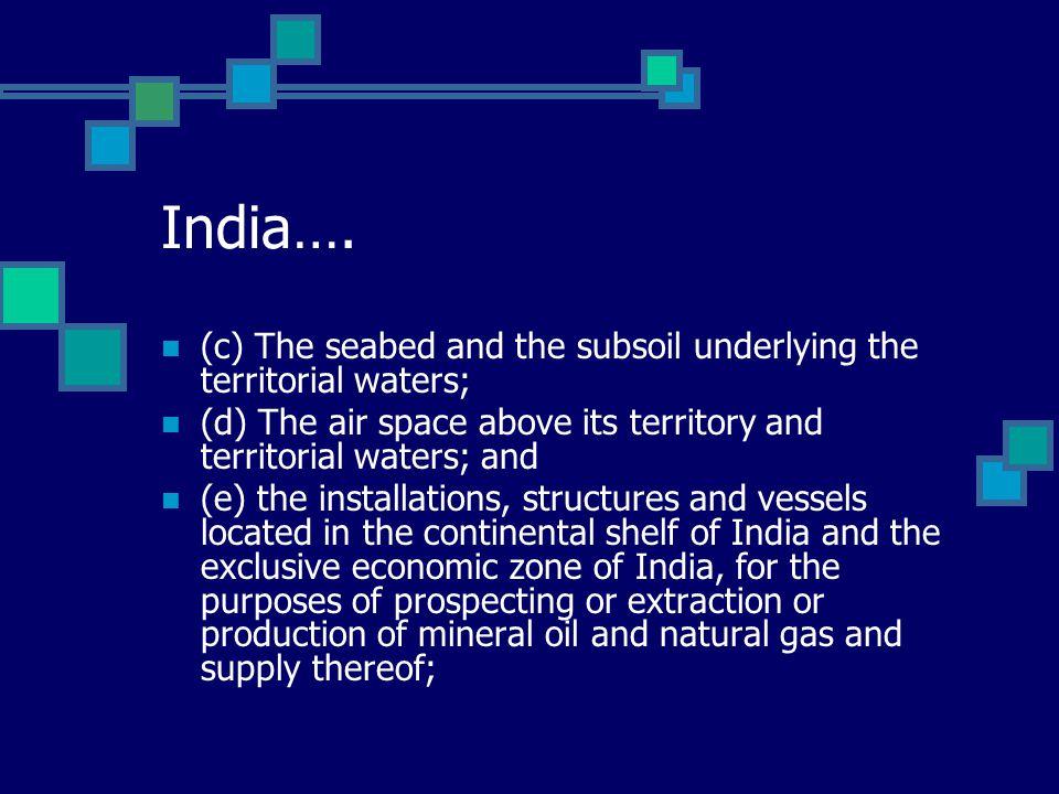 India….