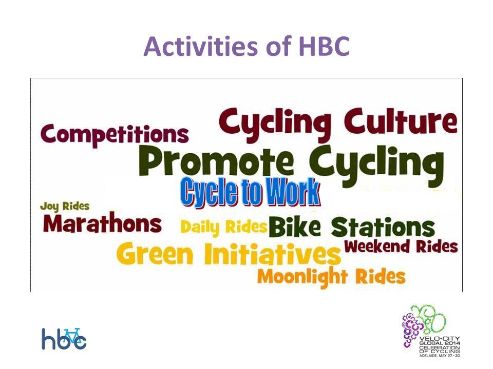 Activities of HBC