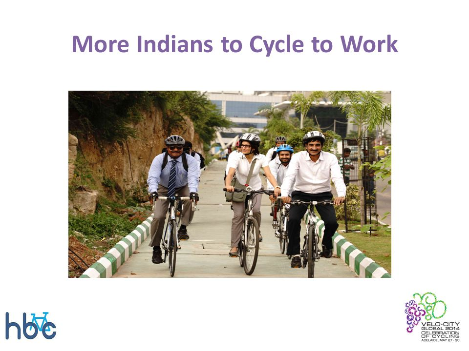 More Indians to Cycle to Work
