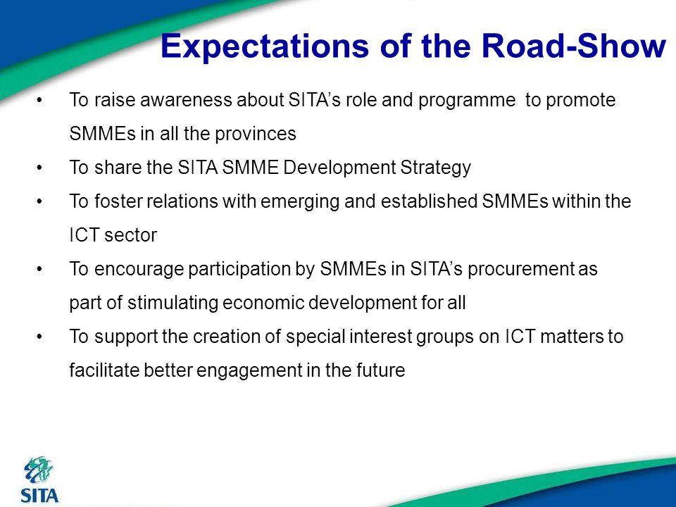 SITA`s SMME Development Strategy…. 15 Unleashing Entrepreneurship in Technology