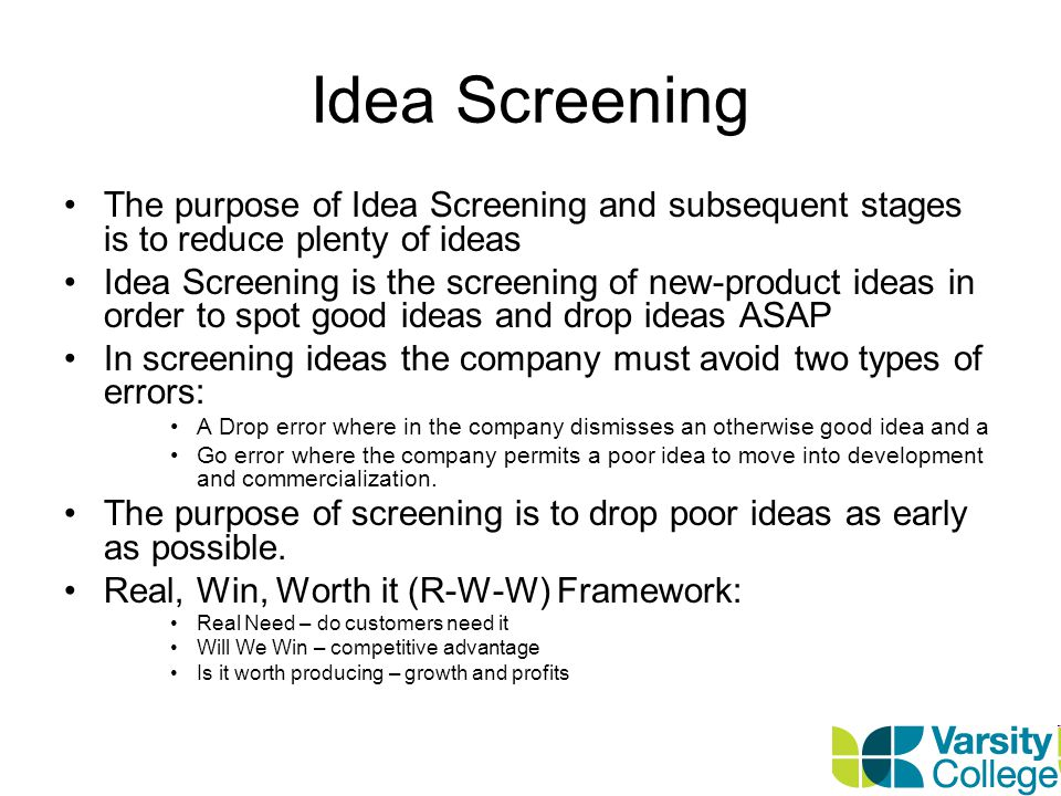 Concept Development and Testing Attractive ideas must be refined into testable product concepts.