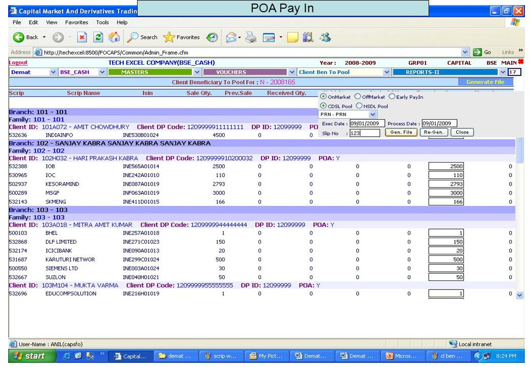 POA Pay In