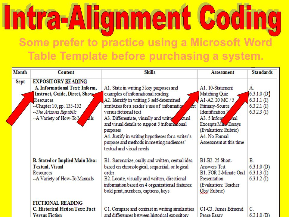 Some prefer to practice using a Microsoft Word Table Template before purchasing a system.