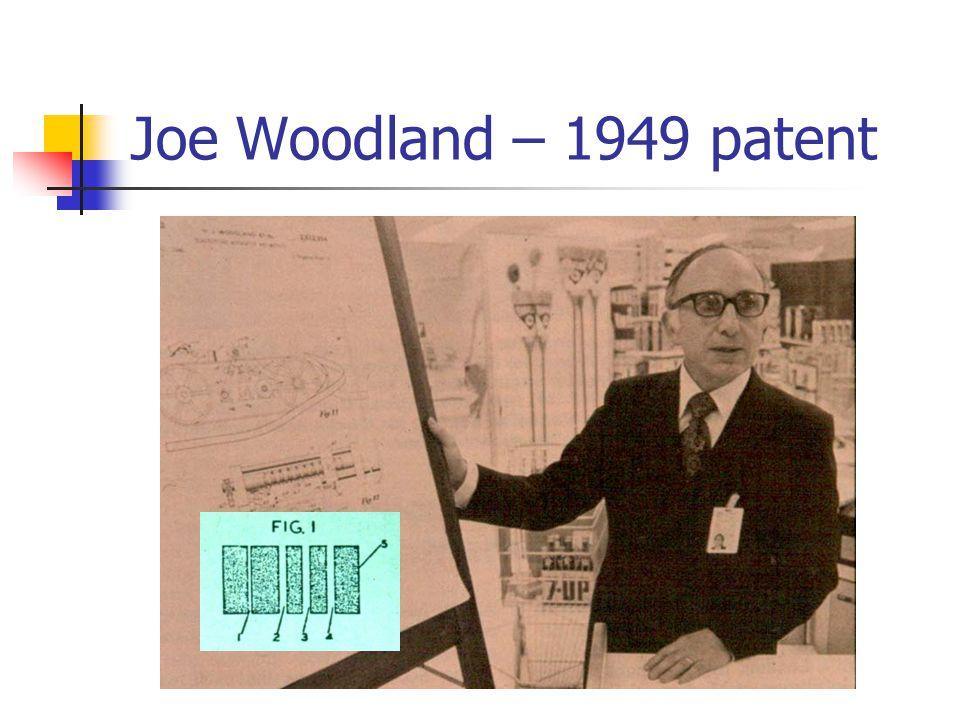 Joe Woodland – 1949 patent