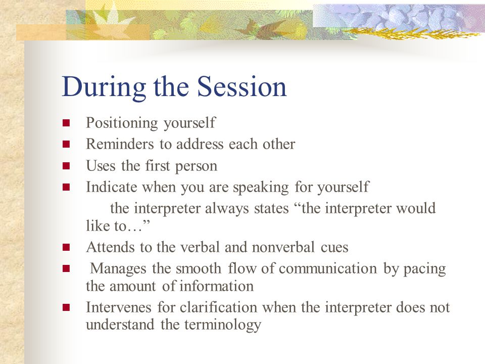 End of Session/Provides Closure Did you assist in facilitating any f/u necessary appts Complete all required documentation for this session Provide any debriefing with the provider If it was stressful how did you handle it?