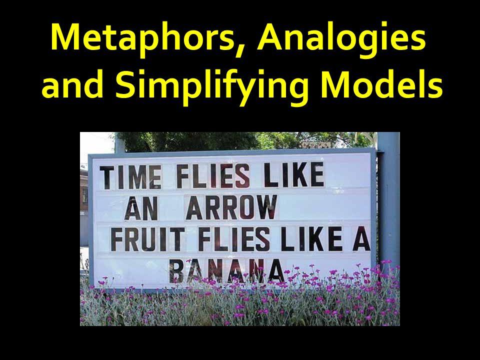 Metaphors, Analogies and Simplifying Models