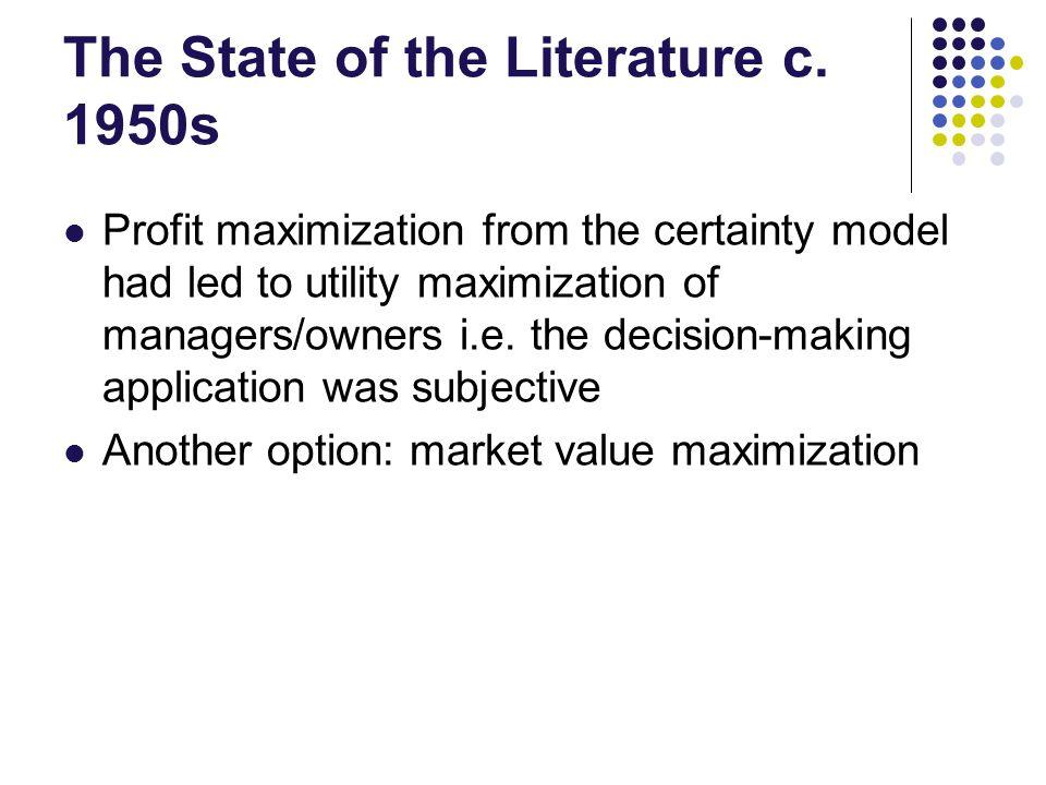 Market Value Max.