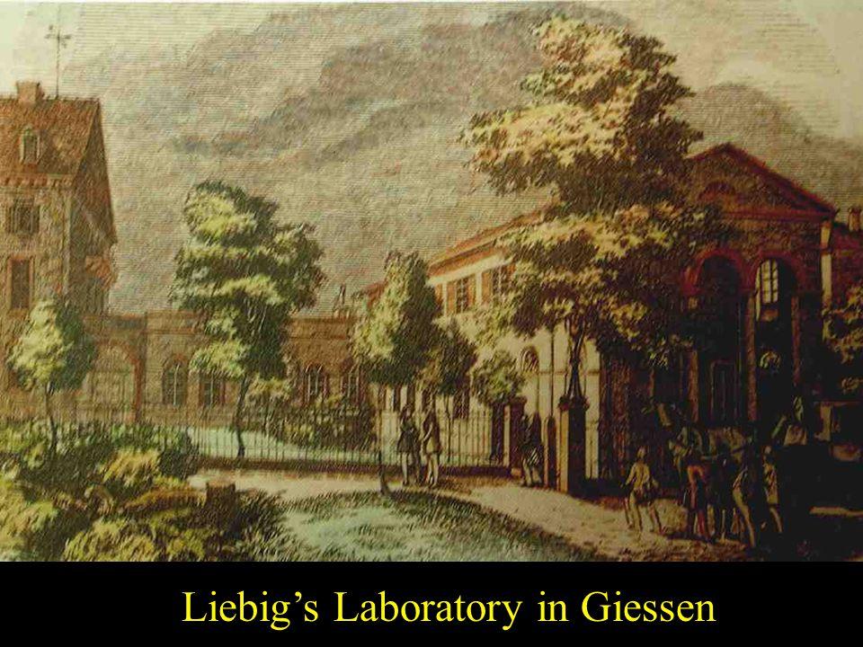 Lab Liebig's Laboratory in Giessen