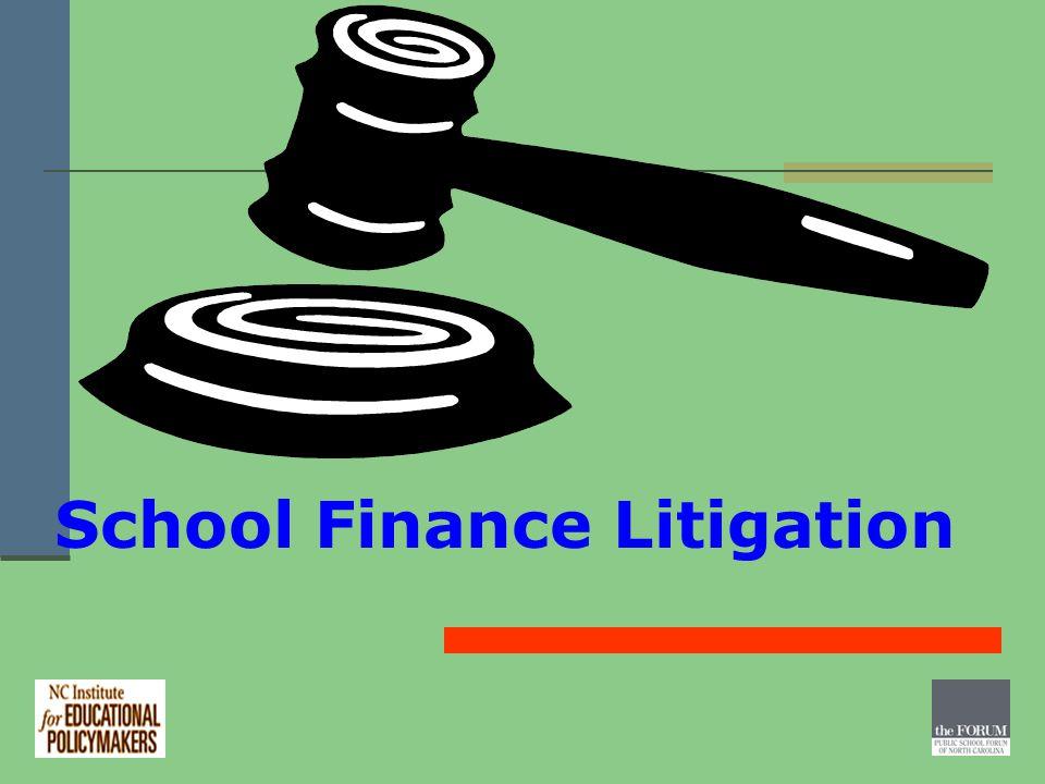 School Finance Litigation