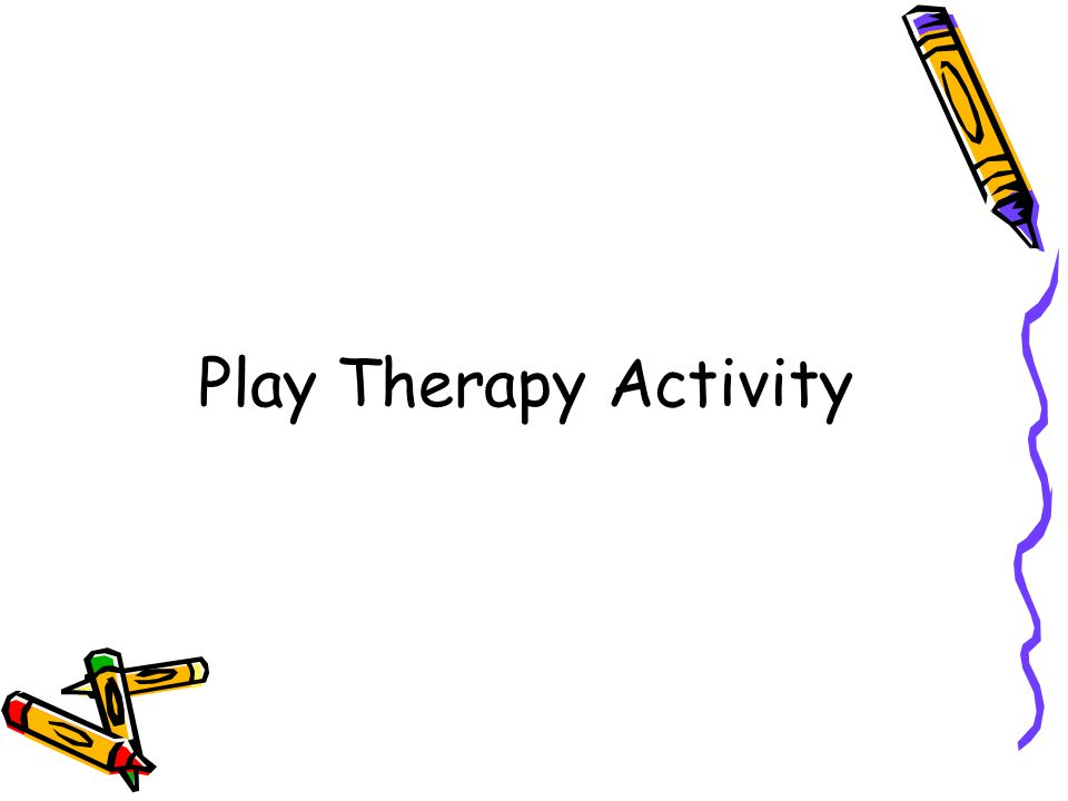 Play Therapy Activity