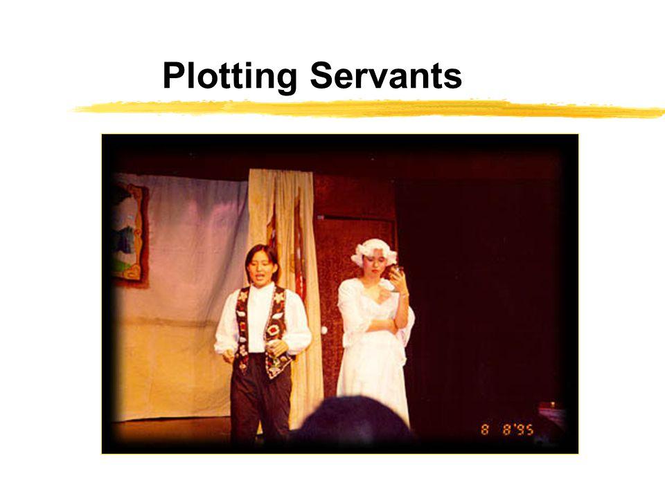 Plotting Servants
