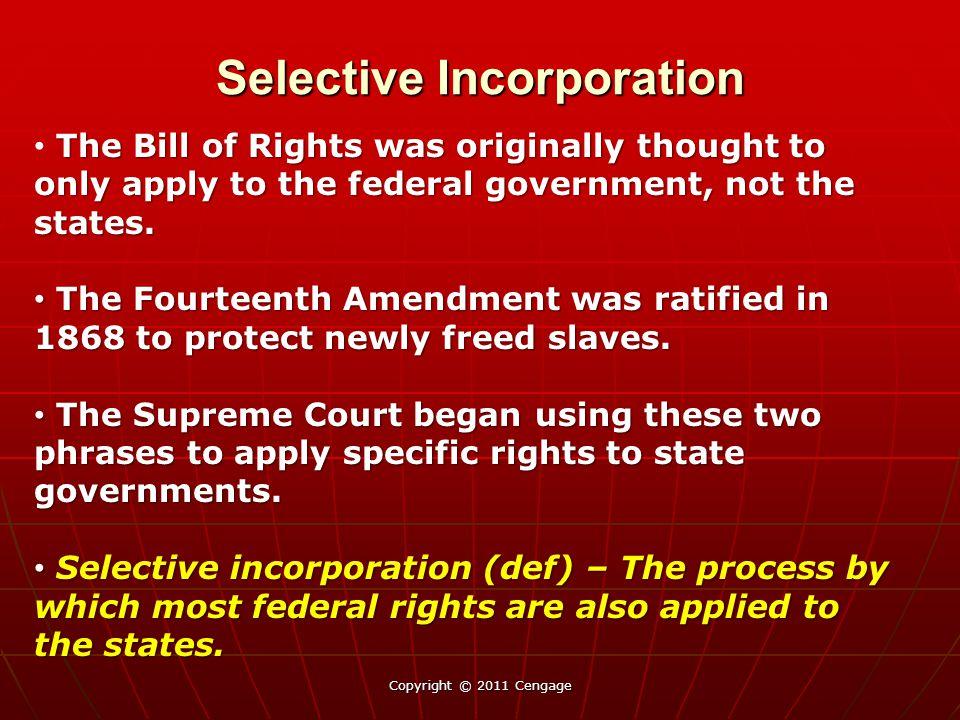 Selective Incorporation Barron v.