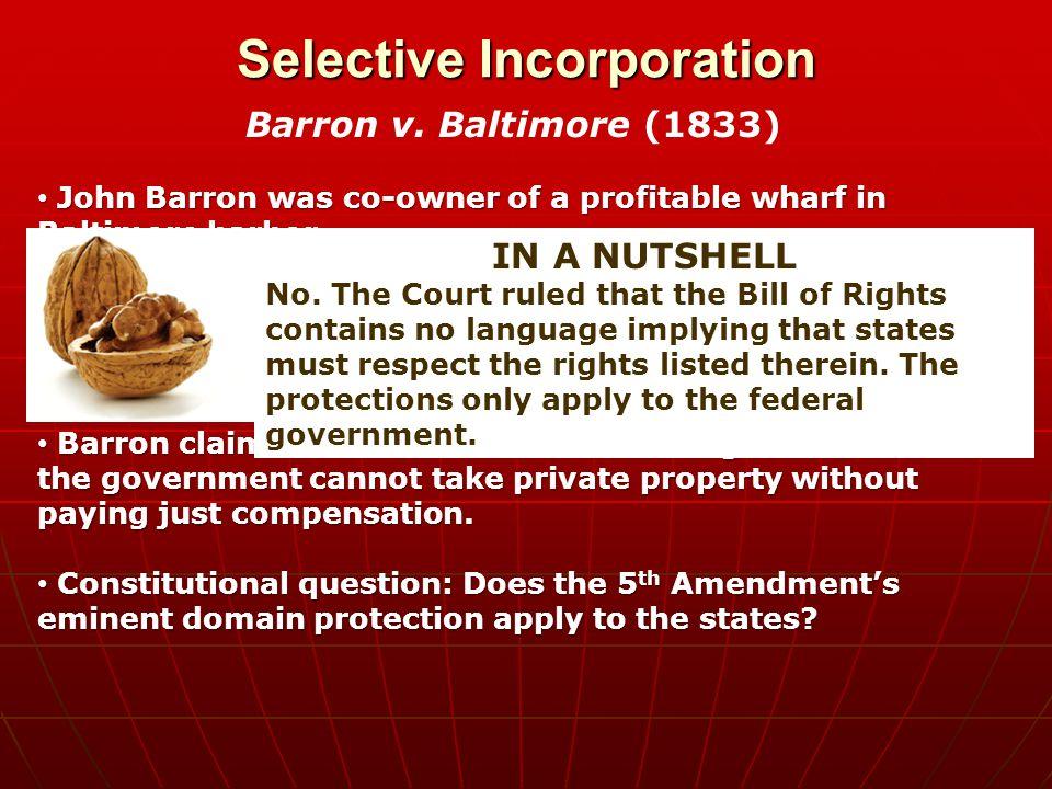Selective Incorporation Gitlow V.