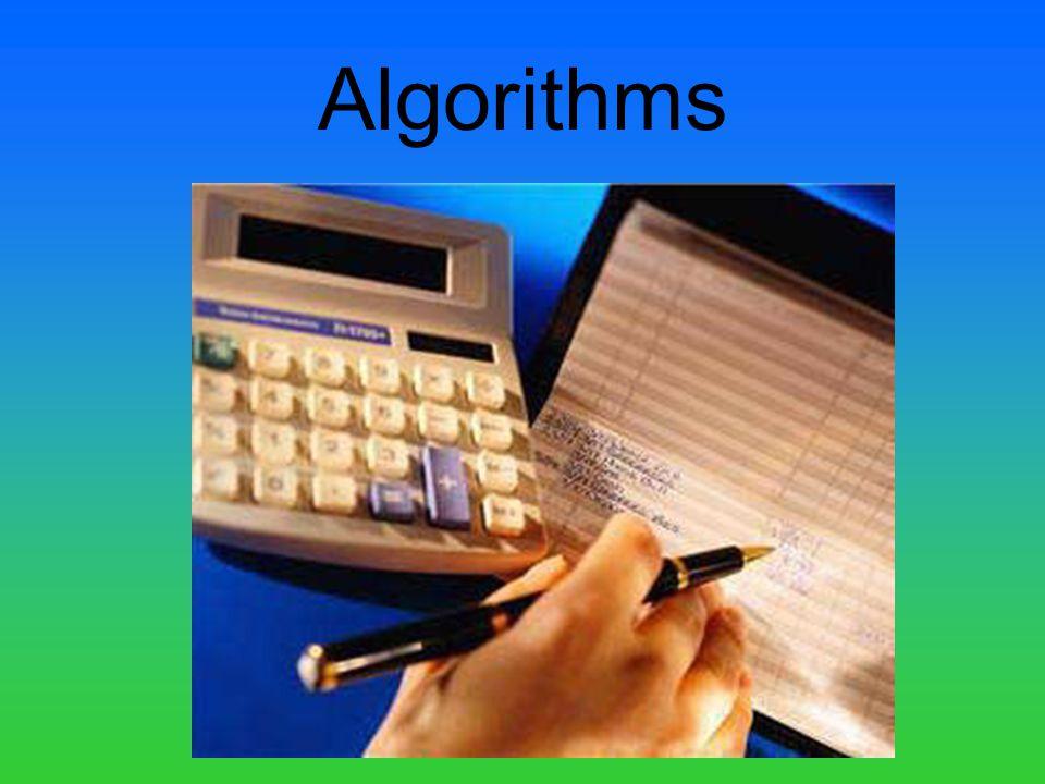 Algorithms
