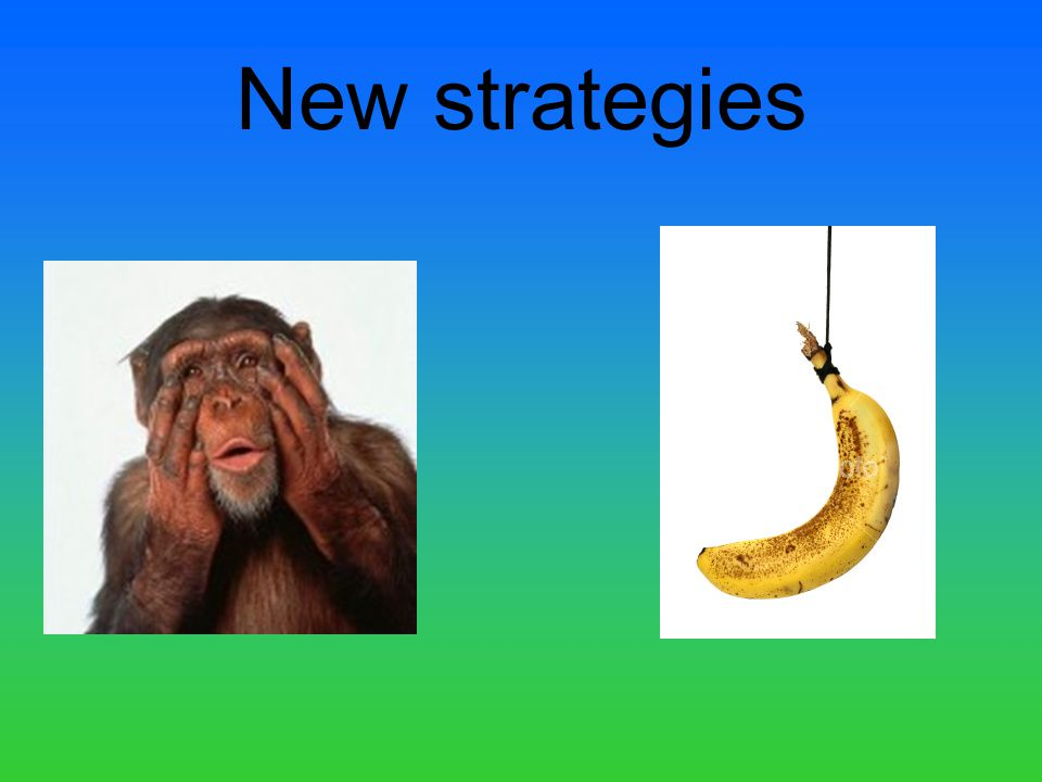 New strategies