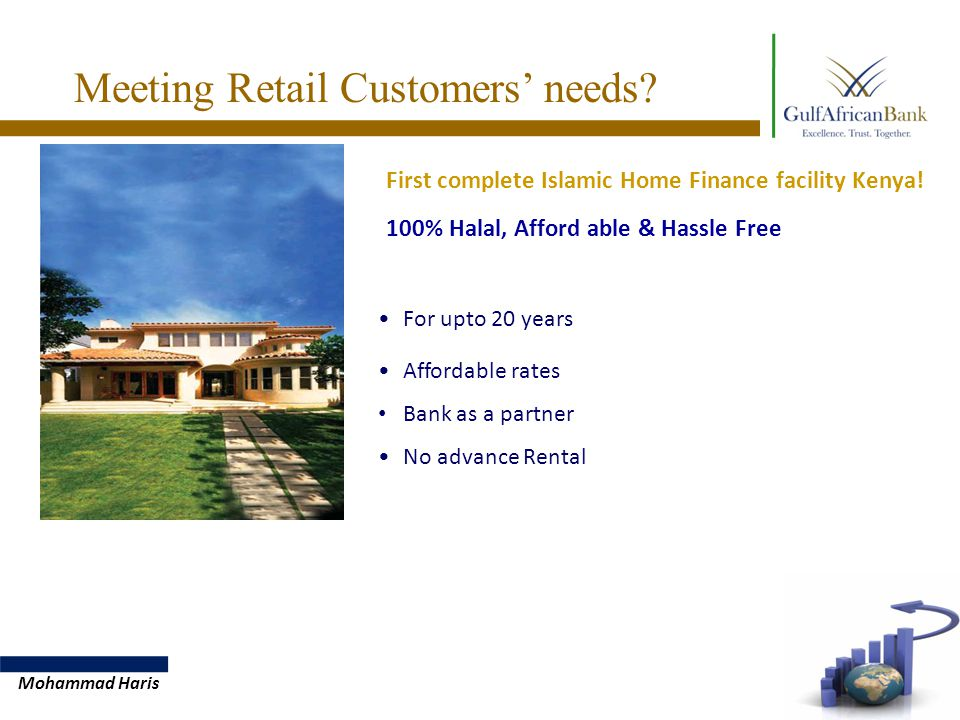 First complete Islamic Home Finance facility Kenya.