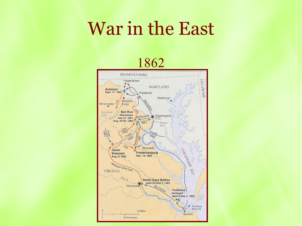 War in the East 1862