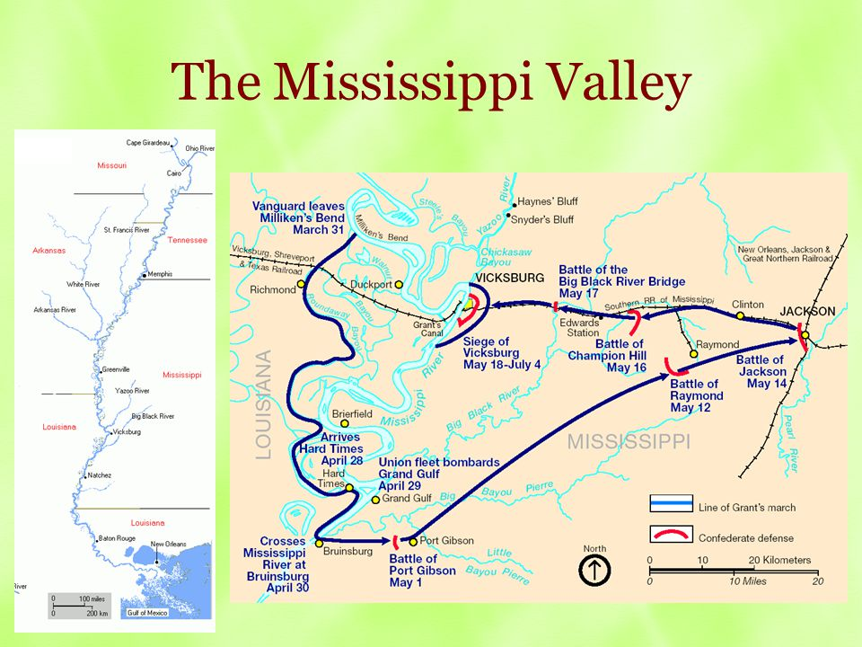 The Mississippi Valley
