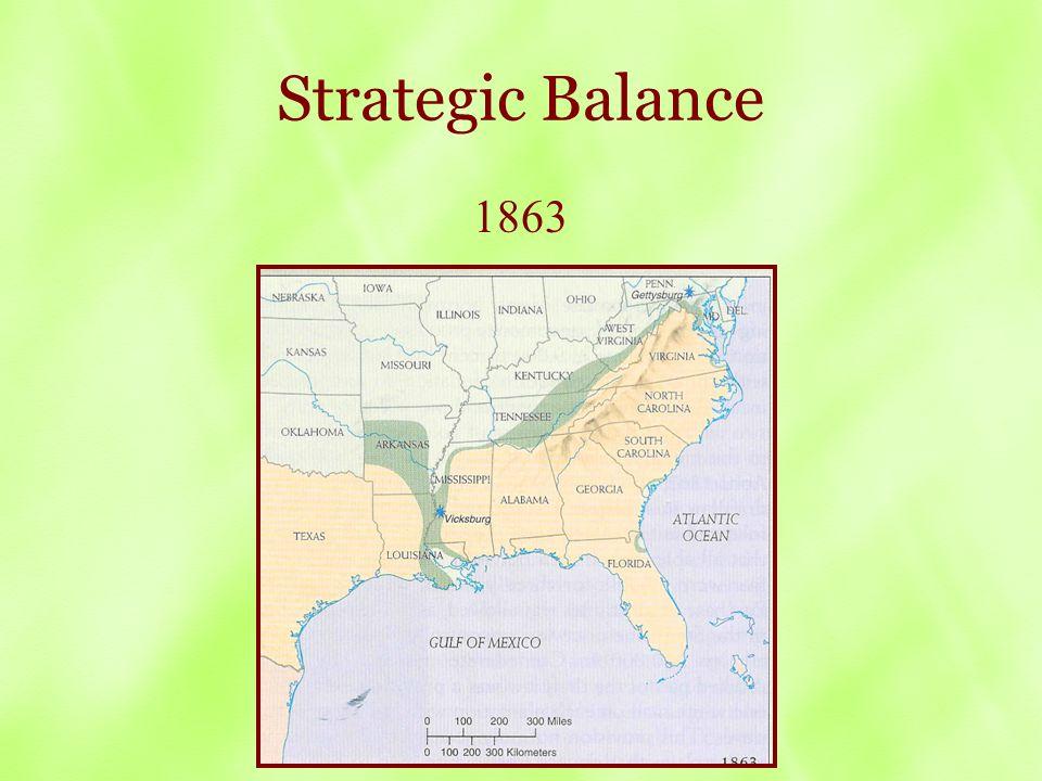 Strategic Balance 1863