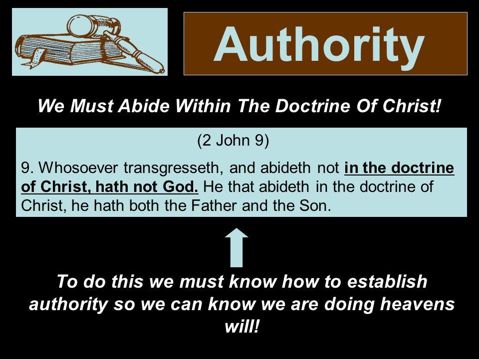 Authority 21.