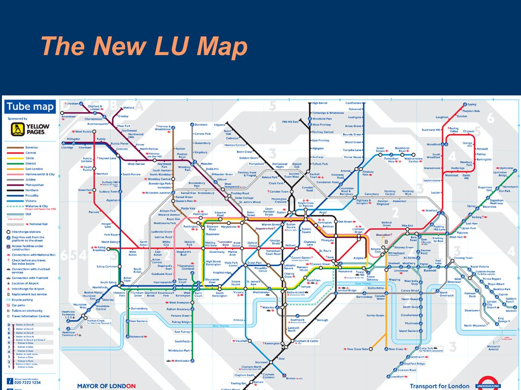 The New LU Map