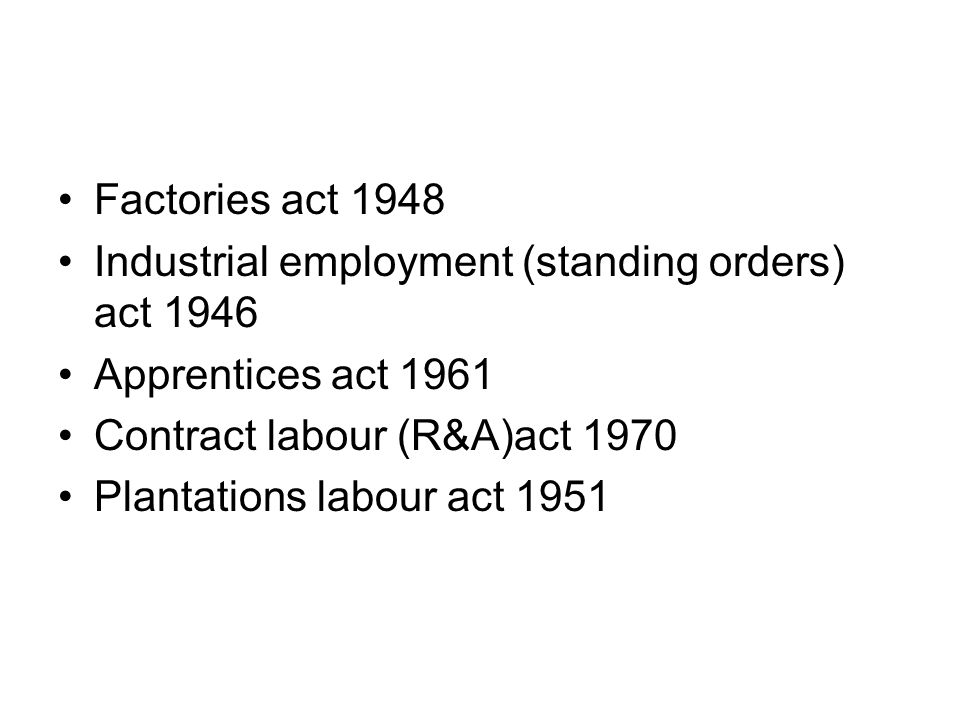 Obligations of employer Approval for the factory site from the respective state authorities Licence to be compulsorily obtained atleast 15 days prior to the opening of the factory Must ensure the health, safety and welfare of all workers while at work in the factory Registers to be maintained Notice of certain accident (sec 88) and dangerous occurrences(sec 88a)