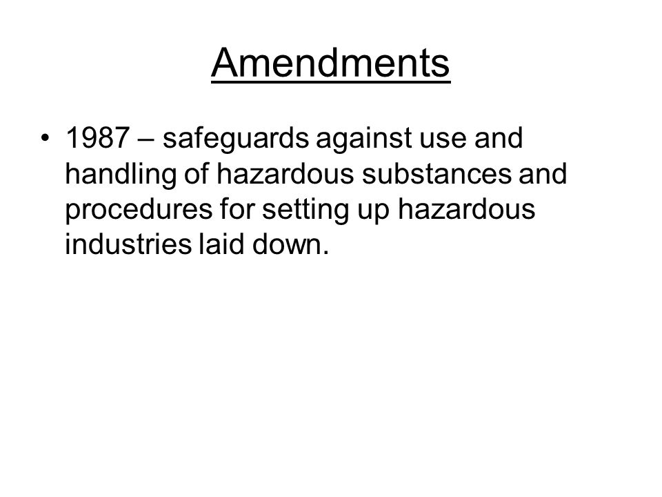 objectives The objectives of the factories act 1948 are to consolidate and amend the law regulating labor in factories