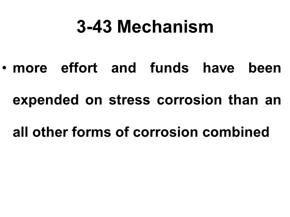 3.46 Methods of Prevention 6.Coatings - Keeping the environment away from the metal.