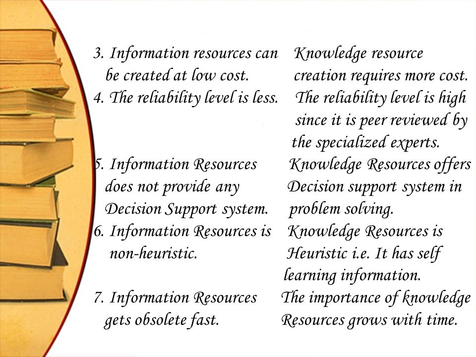 Paradigm shift – Information Services to Knowledge Services