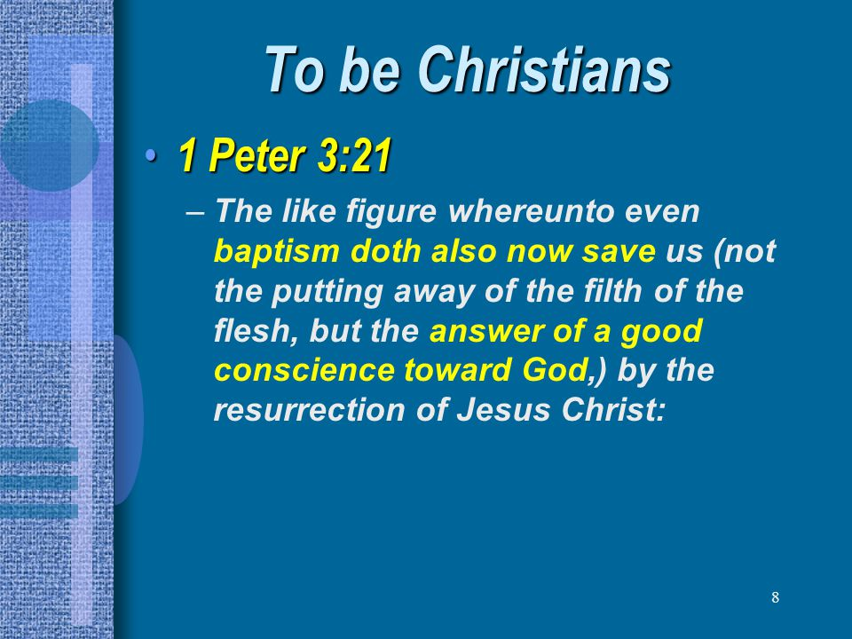39 To be a HOLY people 1 Peter 4:15-19 1 Peter 4:15-19 –But let none of you suffer as a murderer, or as a thief, or as an evildoer, or as a busybody in other men s matters.