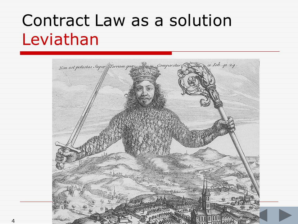 4 Contract Law as a solution Leviathan 4