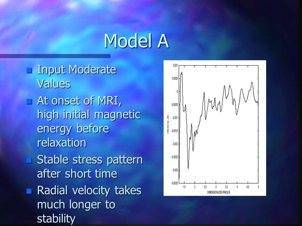 Model B n Short radius r 2 = 4.0 n Similar results to Model A n Stress Parameter results were initially nonsensical