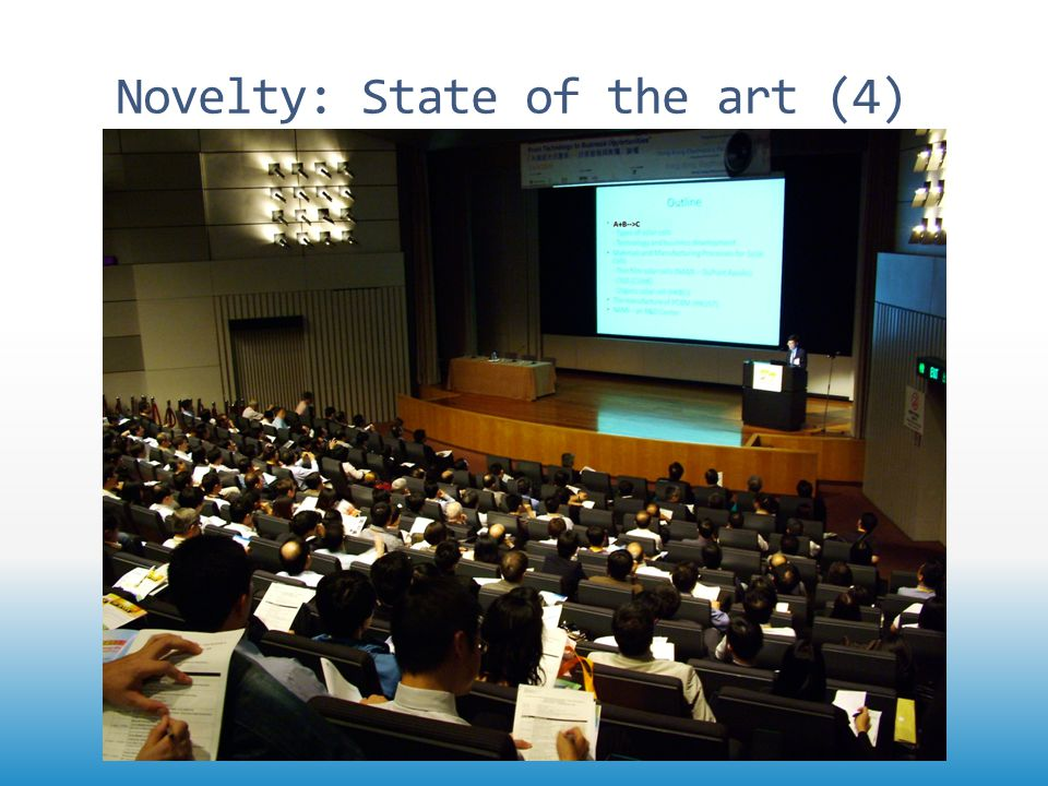Novelty: State of the art (4)