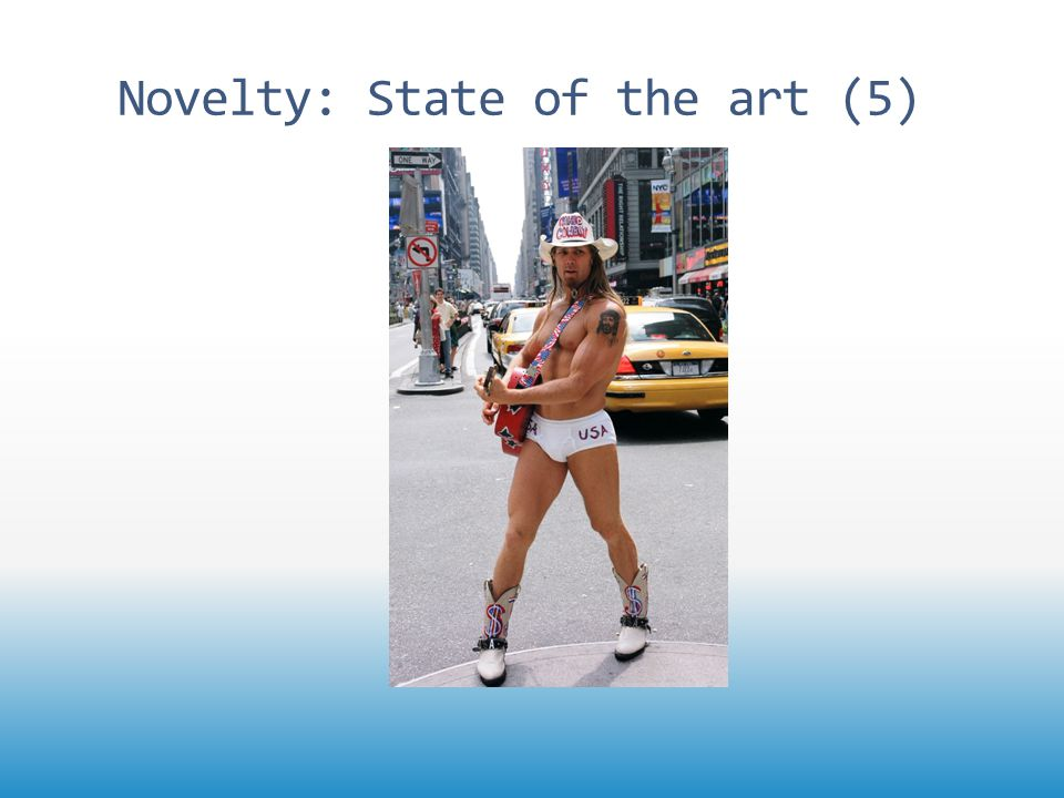 Novelty: State of the art (5)
