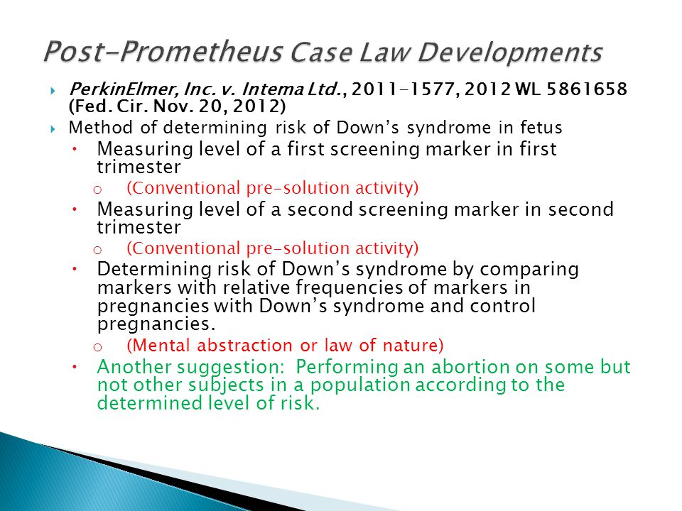  PerkinElmer, Inc. v. Intema Ltd., 2011-1577, 2012 WL 5861658 (Fed.