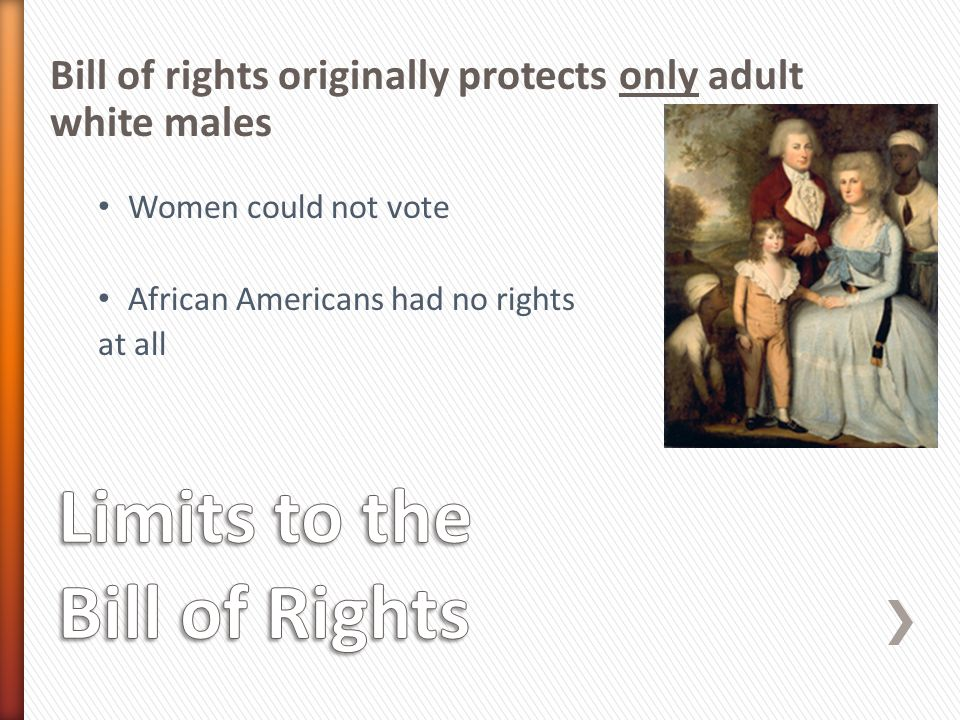 Guaranteed the right to vote to women o Before 1920 states made their own laws with regard to women voting The right of citizens of the United States to vote shall not be denied or abridged by the United States or by any State on account of sex.