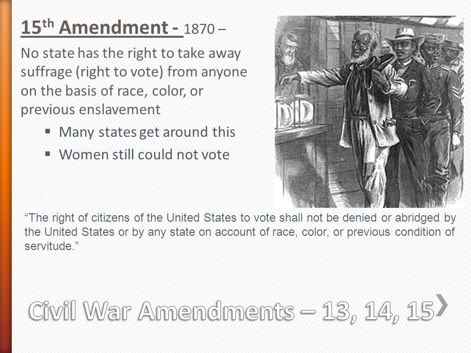 The 14th Amendment overruled the Supreme Court case of Dred Scott vs.