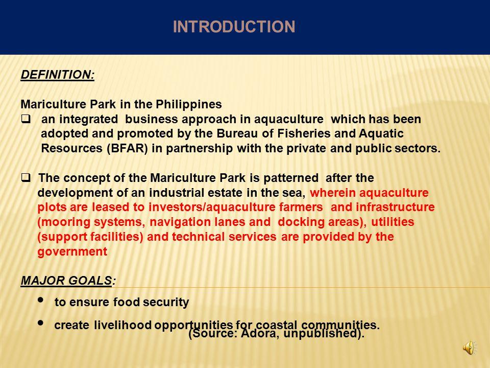 I. Introduction A. Definition B. Major goals C.