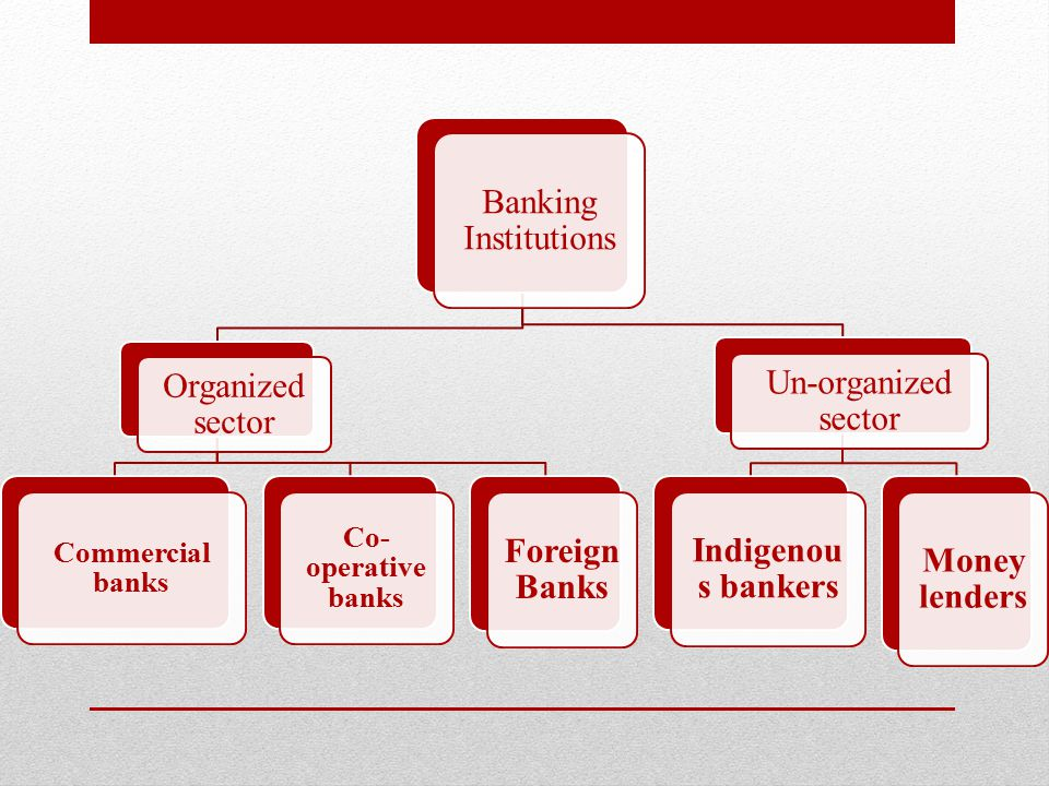 Commercial banks Commercial BanksPrivate sector banks wherein 51% of the ownership lies in private hands E.g.